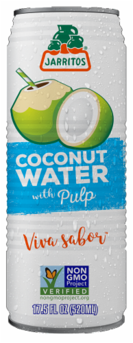 Jarritos Coconut Water with Pulp Perspective: front