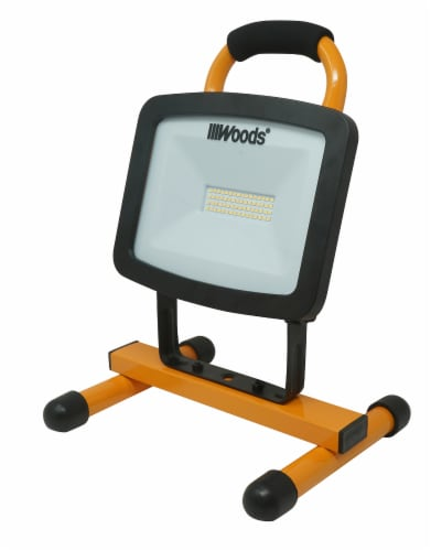 Woods® LED H-Stand Portable Work Light Perspective: front