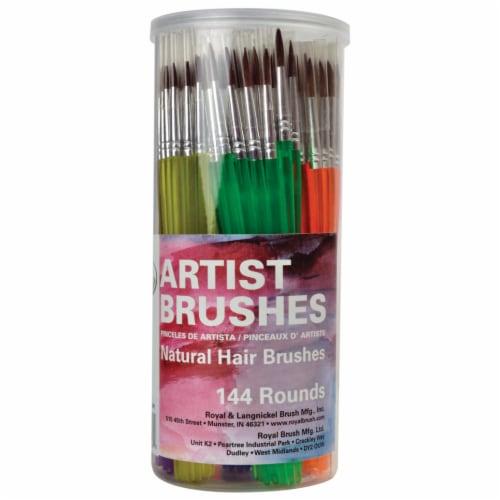 Royal Langnickel Natural Hair Artist Brushes Perspective: front