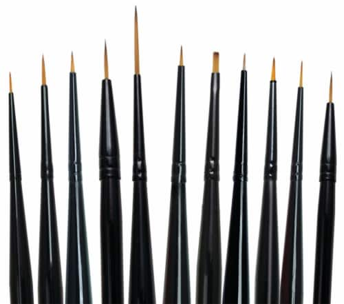 Royal Langnickel Majestic Detail Brush Set Perspective: front