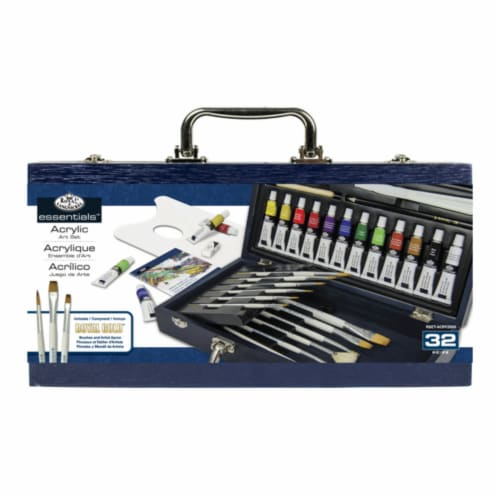 Royal Langnickel Essentials Acrylic Painting Box Set Perspective: front
