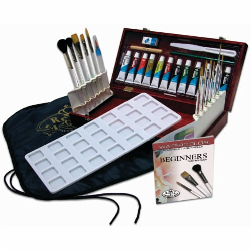 Royal Langnickel Watercolor Painting Box Set Perspective: front