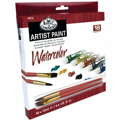 Royal Langnickel Watercolor Artist Paint Set - Assorted Perspective: front