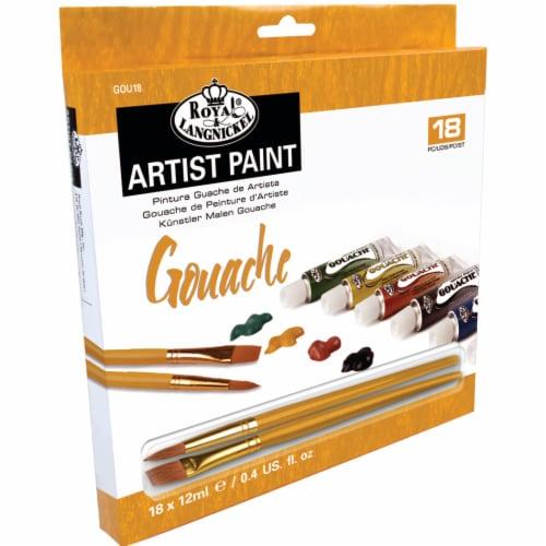 Royal Langnickel Gouache Artist Paint Set - Assorted Perspective: front