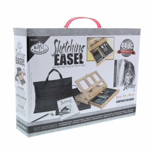 Royal Langnickel Sketching Easel Set with Storage Bag Perspective: front