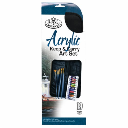 Royal Langnickel Keep & Carry Acrylic Art Painting Set Perspective: front