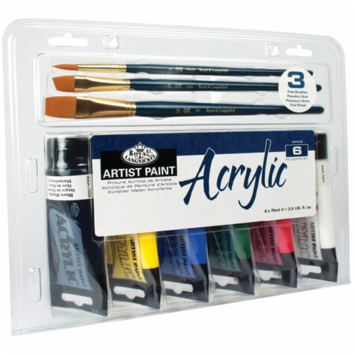 Royal Langnickel Artist Paint Set Perspective: front