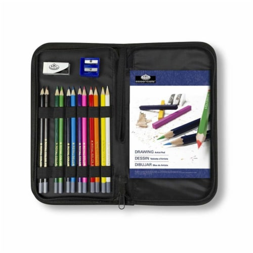 Royal Artist Essentials Keep N' Carry Drawing Set Perspective: front