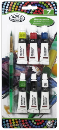 Royal Langnickel Watercolor Artist Pack with Brush Paint Set Perspective: front