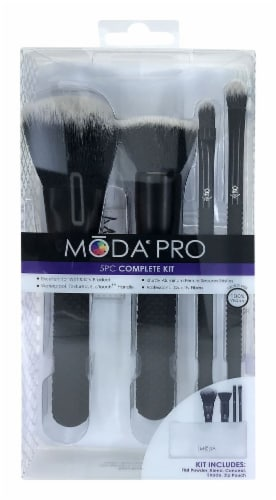 MODA Pro Complete Brushes Kit Perspective: front