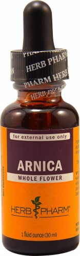 Herb Pharm Arnica Whole Flower Herbal Supplement Perspective: front