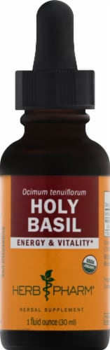 Herb Pharm Holy Basil Herbal Supplement Perspective: front