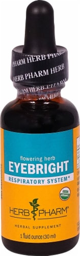 Herb Pharm Eyebright Respiratory System Herbal Supplement Perspective: front