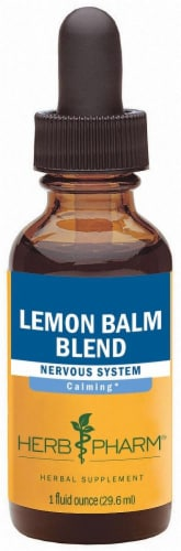 Herb Pharm Lemon Balm Herbal Supplement Perspective: front