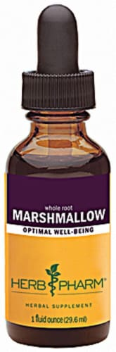 Herb Pharm Marshmallow Optimal Well Being Herbal Supplement Perspective: front