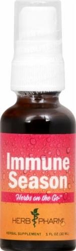 Herb Pharm Herbs on the Go Immune Season Herbal Supplement Perspective: front