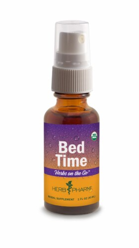 Herb Pharm Herbs on the Go Bed Time Herbal Supplement Perspective: front