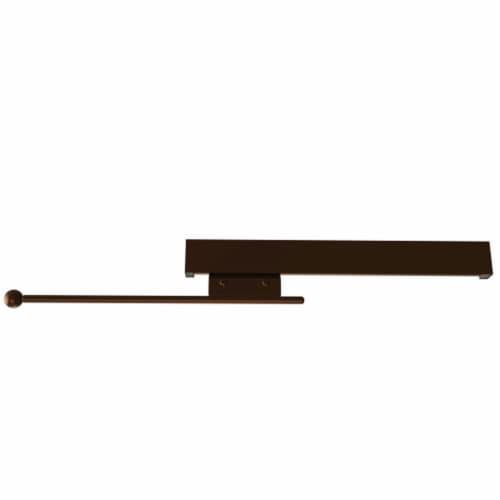 Rev-A-Shelf Sidelines CVRSL-14-BZ-1 Extendable Deluxe Sliding Valet Rod, Bronze Perspective: front