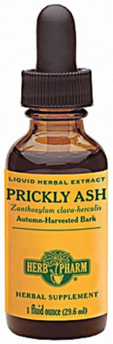 Herb Pharm Prickly Ash Liquid Herbal Supplement Perspective: front