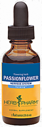 Herb Pharm Passionflower Perspective: front