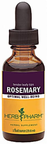 Herb Pharm Rosemary Optimal Well-Being Herbal Supplement Perspective: front