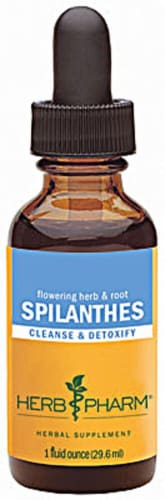 Herb Pharm Spilanthes Cleanse & Detoxify Herbal Supplement Perspective: front
