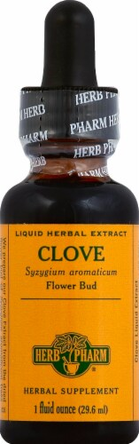 Herb Pharm Clove Optimal Well-Being Herbal Supplement Perspective: front