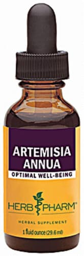Herb Pharm Artemisia Annua Optimal Well-Being Herbal Supplement Perspective: front