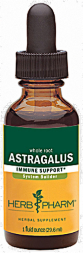 Herb Pharm Astragalus Herbal Supplement Perspective: front
