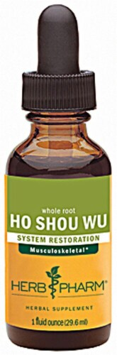 Herb Pharm Ho Shou Wu Syrup Perspective: front