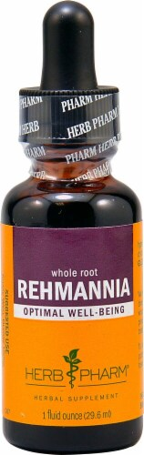 Herb Pharm Whole Root Rehmannia Herbal Supplement Perspective: front