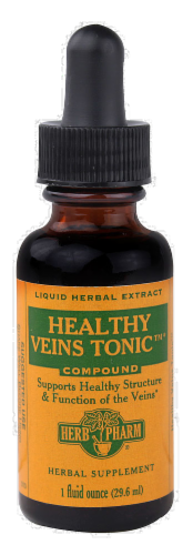 Herb Pharm Healthy Vein Tonic Compound Herbal Supplement Perspective: front