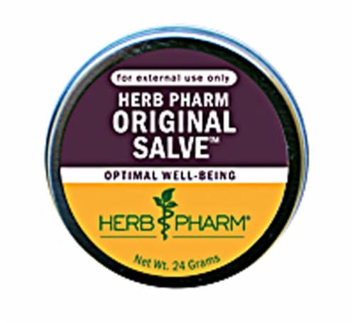 Herb Pharm Original Optimal Well Being Salve Perspective: front