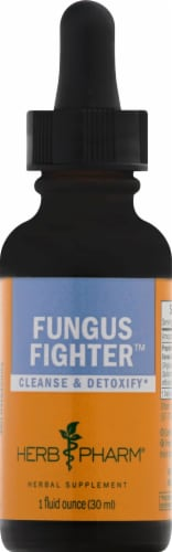 Herb Pharm Fungus Fighter Herbal Supplement Perspective: front