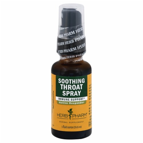 Herb Pharm Propolis Echinacea Throat Spray Perspective: front