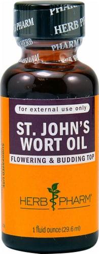 Herb Pharm St John's Wort Oil Perspective: front