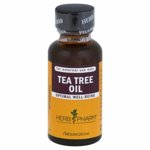 Herb Pharm Tea Tree Oil Perspective: front