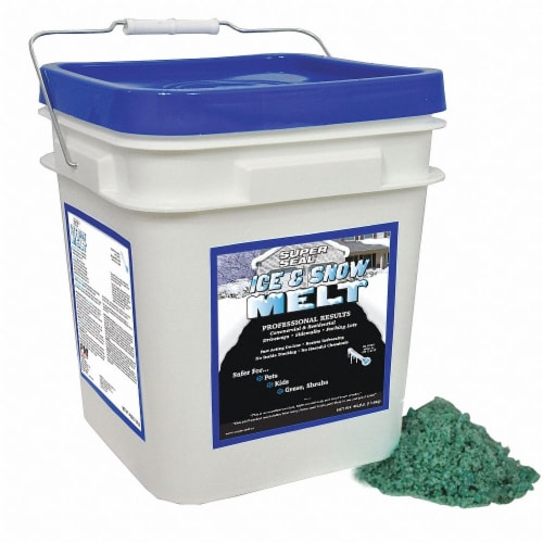 Super Seal Pail Ice and Snow Melt,30 lb. HAWA 53270 Perspective: front
