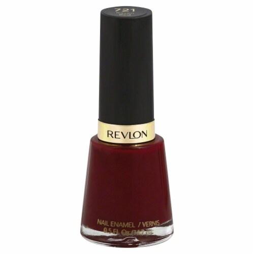 Revlon Raven Red Nail Enamel Perspective: front