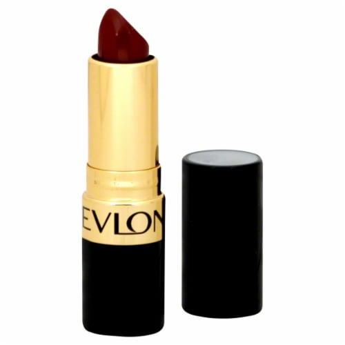 Revlon Super Lustrous Raisin Rage Creme Lipstick Perspective: front