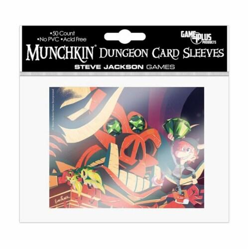 Steve Jackson Games SJG5602 Munchkin - Dungeon Card Sleeves Perspective: front