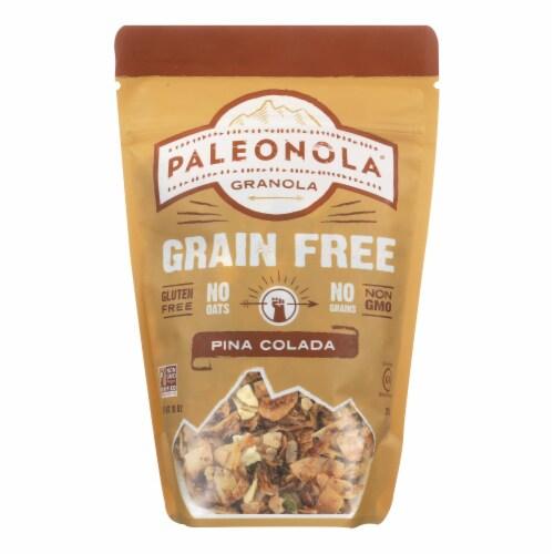 Paleonola Protein Bars Granola - Pina Colada - Case of 6 - 10 oz. Perspective: front
