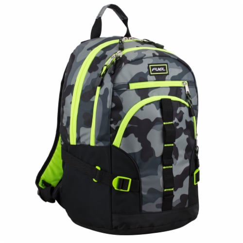 Fuel Dynamo Backpack - Army Camo Grey Perspective: front