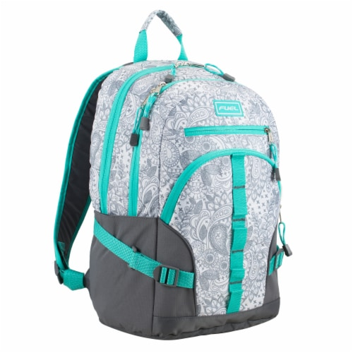 Fuel Dynamo Backpack - Henna Paisley Perspective: front