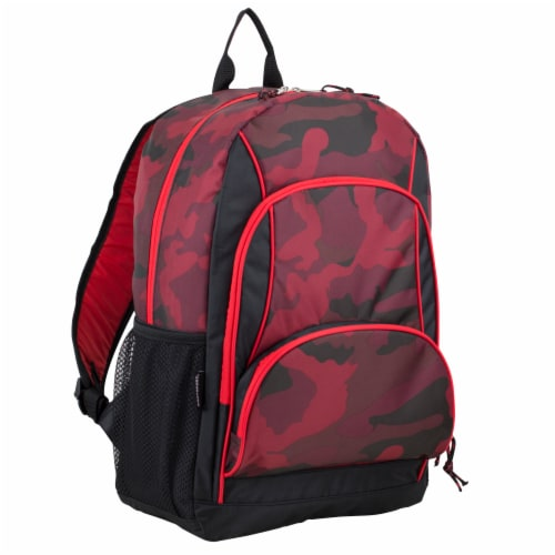 Fuel Triple Decker Backpack - Red Army Camo Perspective: front