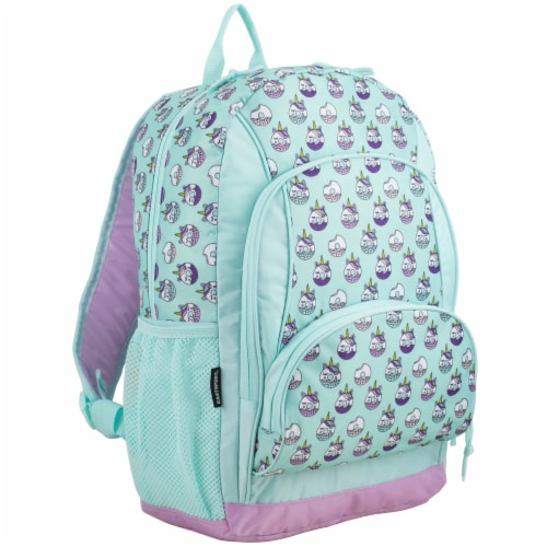 Fuel Unicorn Donuts Triple Decker Backpack Perspective: front