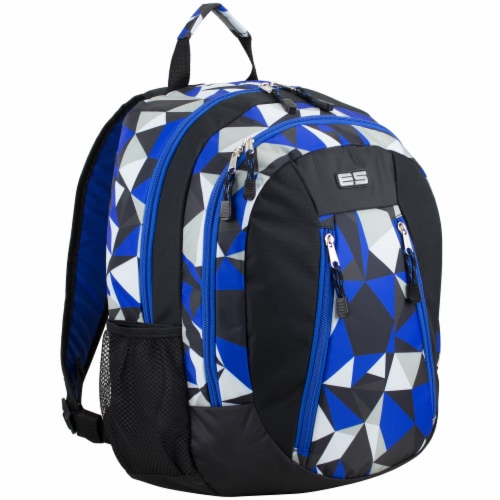 Eastsport Active 2.0 Backpack - Cobalt Splash/Clear Geo Perspective: front