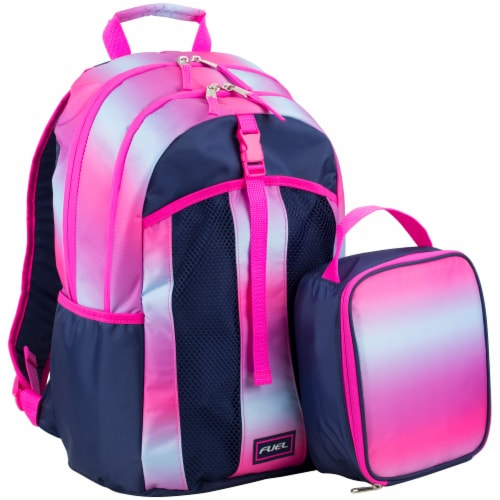 Fuel Deluxe Lunch Bag & Backpack Combo - Gradient Ombre Perspective: front