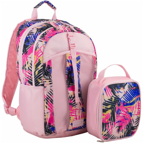 Fuel Deluxe Lunch Bag & Backpack Combo - Palm Leaves Perspective: front