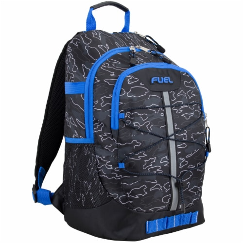 Fuel Camo Outline Terra Sport Bungee Backpack Perspective: front